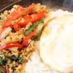 ヒルナンデスで紹介されたガパオライスって何?大人気レシピはこれ!