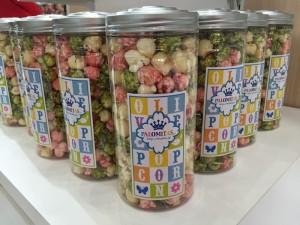 オリーブポップコーン缶