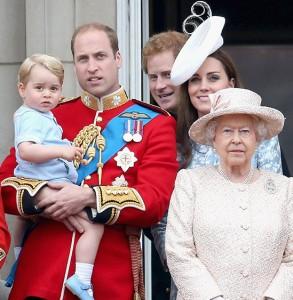 ウィリアム王子一家父の日
