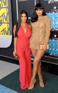 kylie and kourtney kardashian