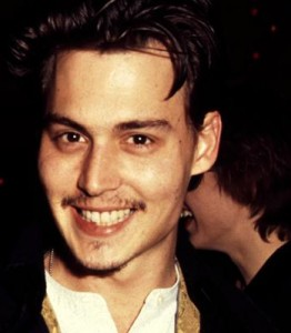 1990 jonny depp mustache