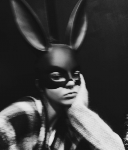 halloween kendall as a batman bunny