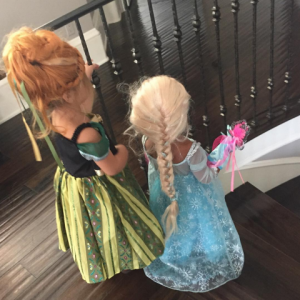 halloween penelope and north anna and elsa