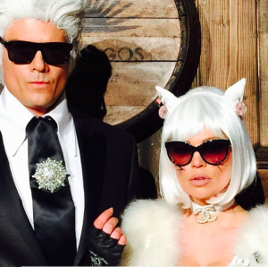 fergie and josh karl and choupette