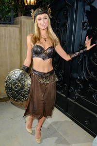 paris hilton Warrior princess