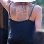 アンジェリーナ・ジョリー、初めてのタトゥーは日本語だった!意味が衝撃的!