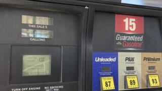 アメリカでガソリンを入れる方法(セルフ)