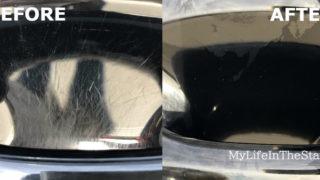 【ビフォーアフター画像】車のスクラッチ傷を歯磨き粉でピカピカにしてみた。